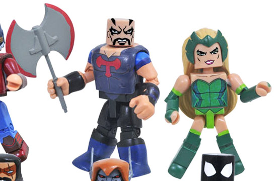 Skurge & Enchantress Walgreen's Exclusive Marvel Minimates