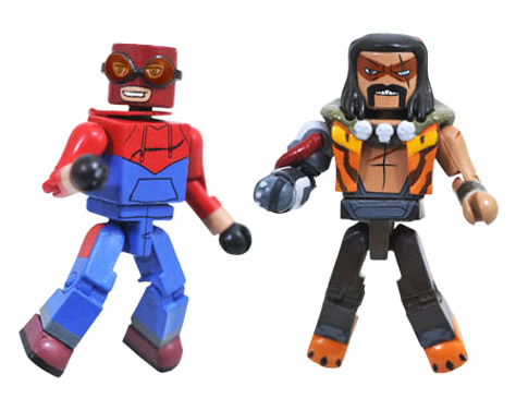 Homemade Suit Spider-Man & Kraven Walgreen's Exclusive Marvel Minimates