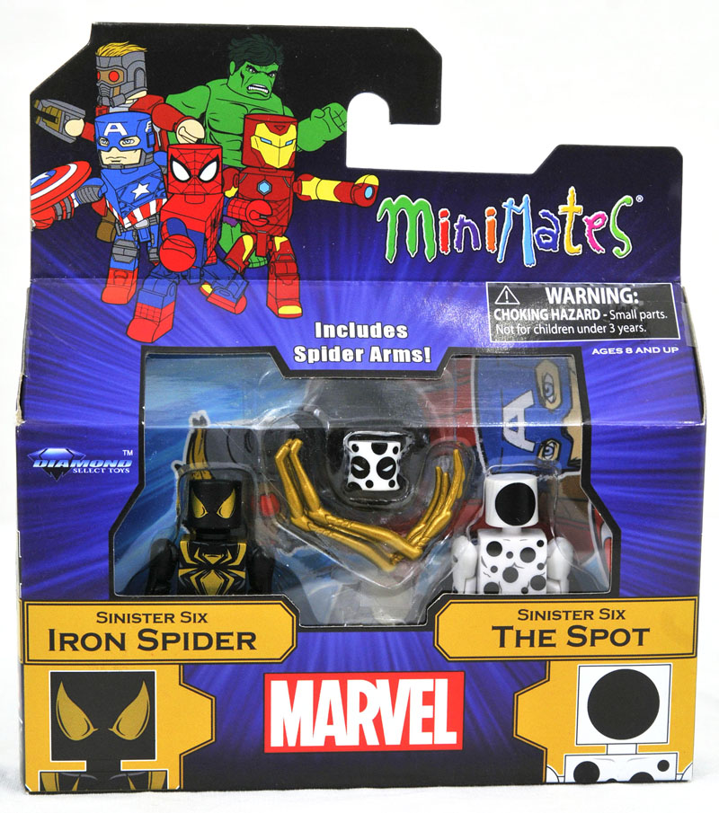 Iron Spider & The Spot Walgreen's Exclusive Minimates