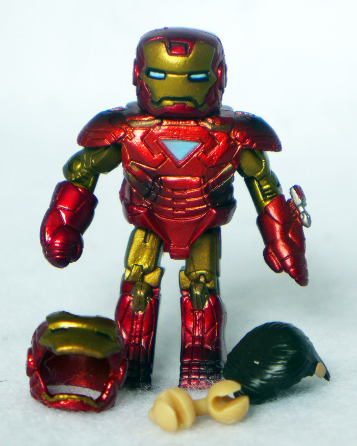 Battle Damaged Mark VI Iron Man Loose Minimate