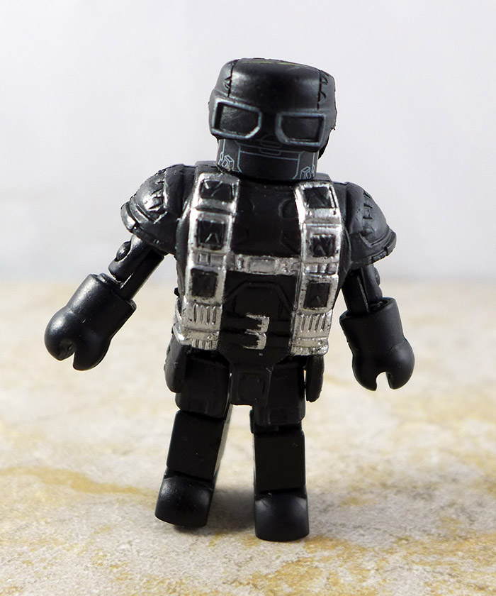 Hydra Flame Trooper Partial Loose Minimate (Captain America Single Pack)