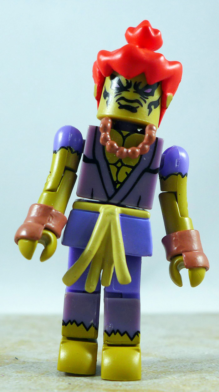 Akuma (P1) Partial Loose Minimate (Street Fighter II Series 1)