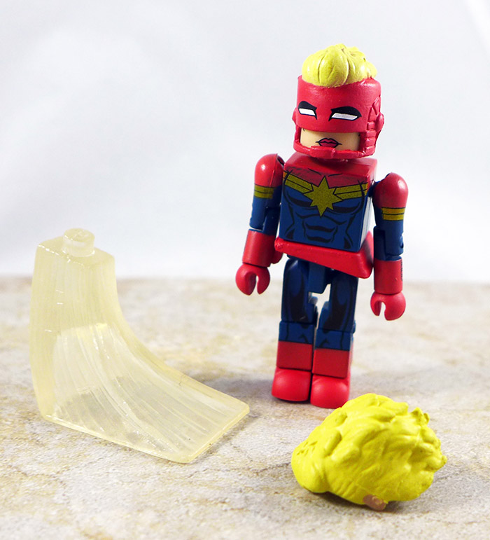 Captain Marvel Loose Minimate (Wave 64)