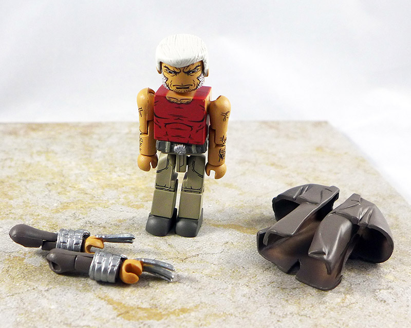 Wastelands Wolverine Loose Minimate (Wave 64)