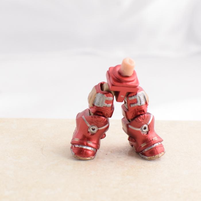 Metallic Red Intricate Cyborgy Legs