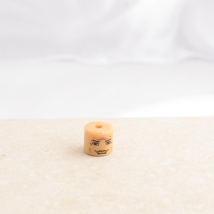 Smug Wrinkle Man Head