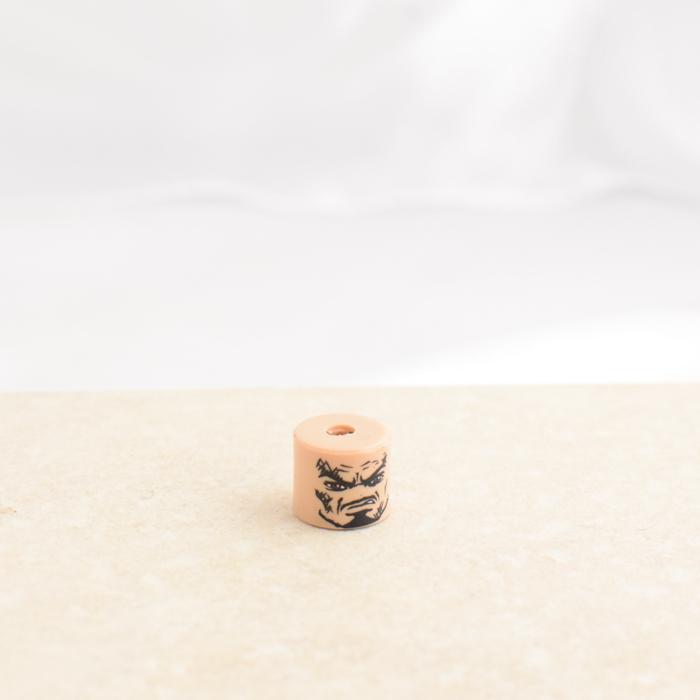 Grumpy Tiny Head Man