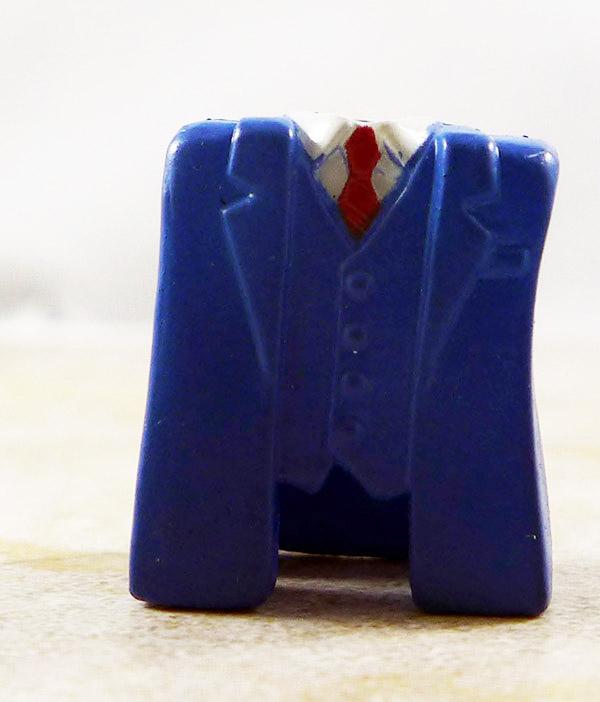Suit Jacket and Vest (Blue) Partial Loose Minimate (Wave 43)