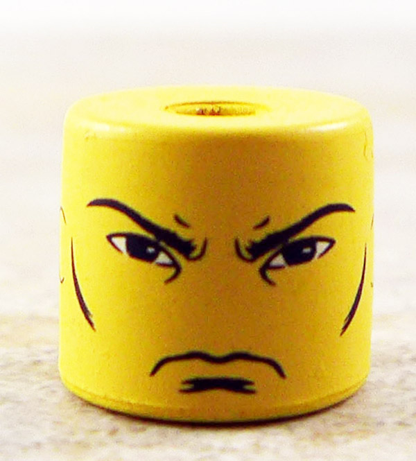 Angry Male Face Partial Loose Minimate