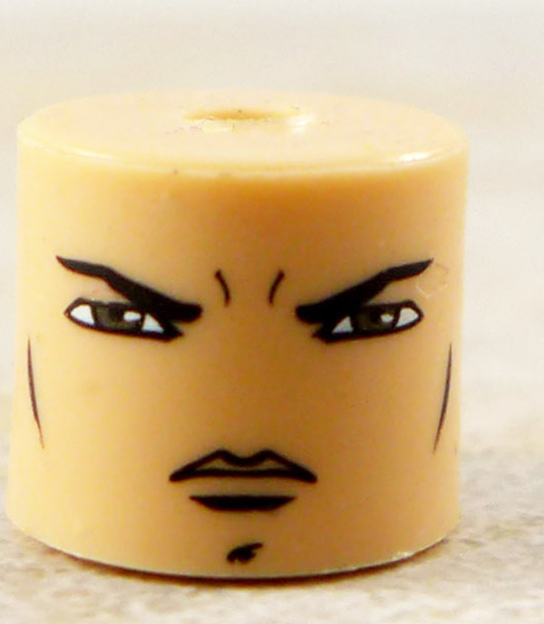 Male Stern Face Partial Loose Minimate
