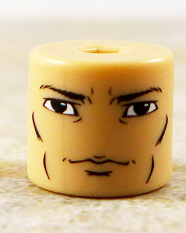 Male Smirking Face Partial Loose Minimate