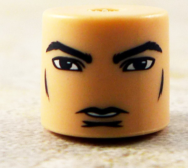 Male Calm Face Partial Loose Minimate