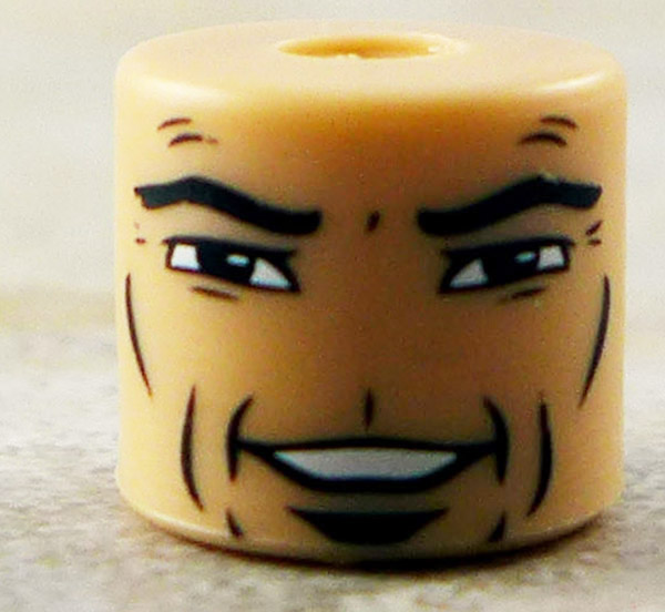 Male Smiling Face Partial Loose Minimate