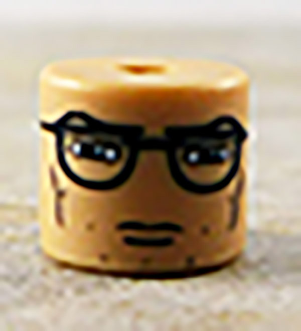 Male Glasses Partial Loose Minimate