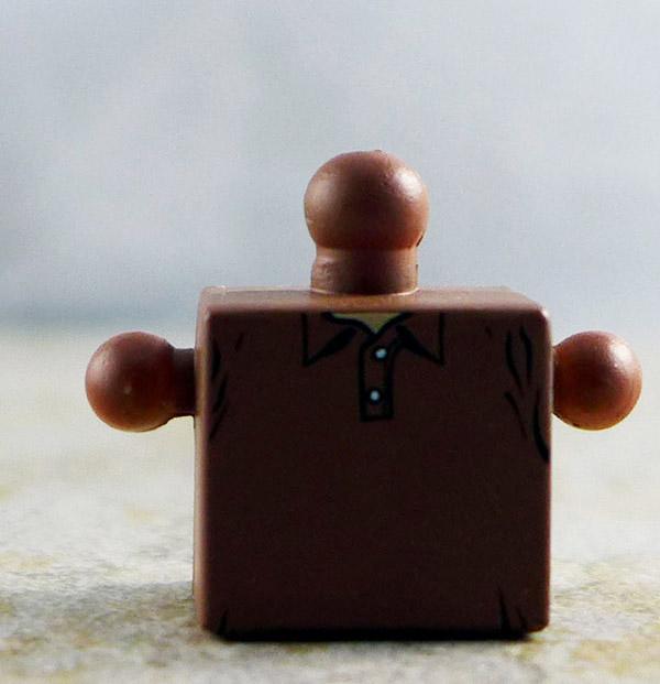 Brown Shirt Torso