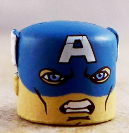 Captain America Face and Mask (Invaders Box Set)