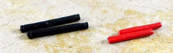Lot of 4 Minimate Baton Accessories