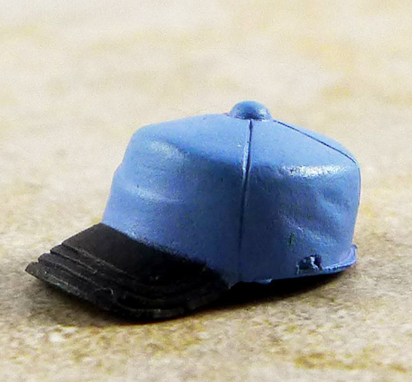 Blue and Black Ballcap