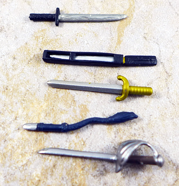 Swords and Whip Lot of 5