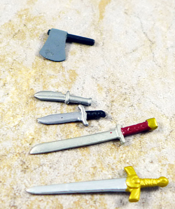 Swords and Axe Lot of 5