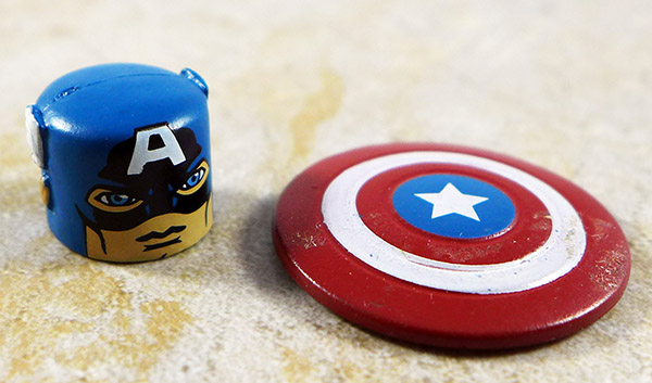 Captain America Mask and Shield (Invaders Box Set)