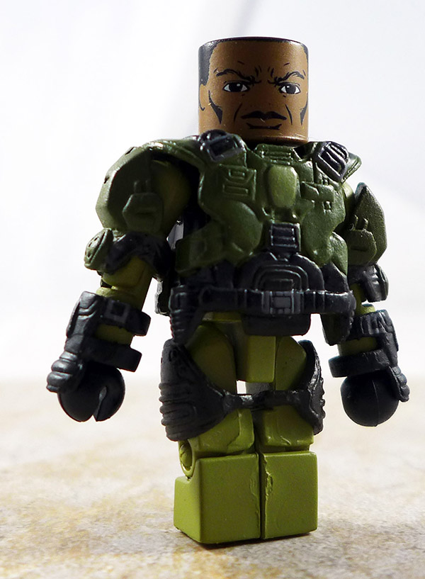 UNSC Marine 2 Loose Minimate (Halo Series 1 Box Set)