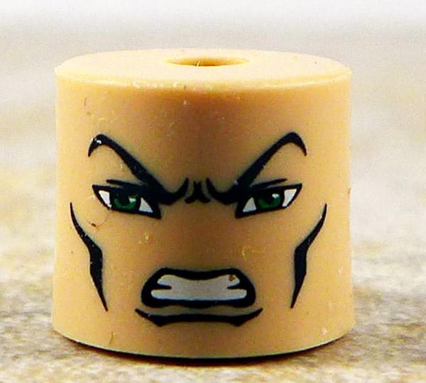 Angry Male Head