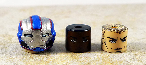 Iron Patriot Accessories Lot of 3 (Marvel Wave 49)