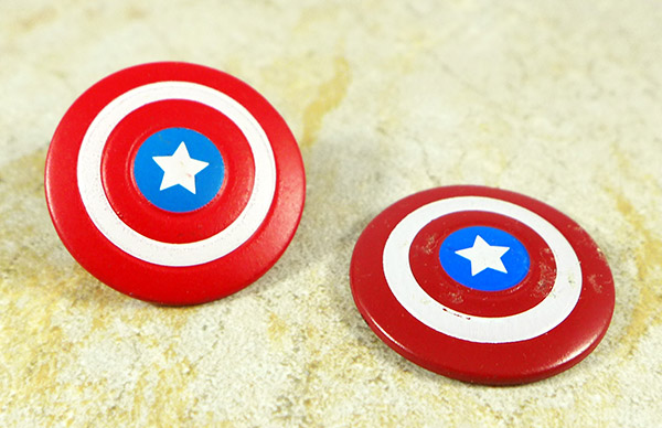 Captain America Shield Lot of 2