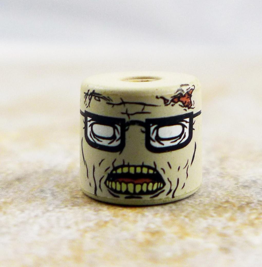 Geek Zombie Head (Walking Dead Wave 5)