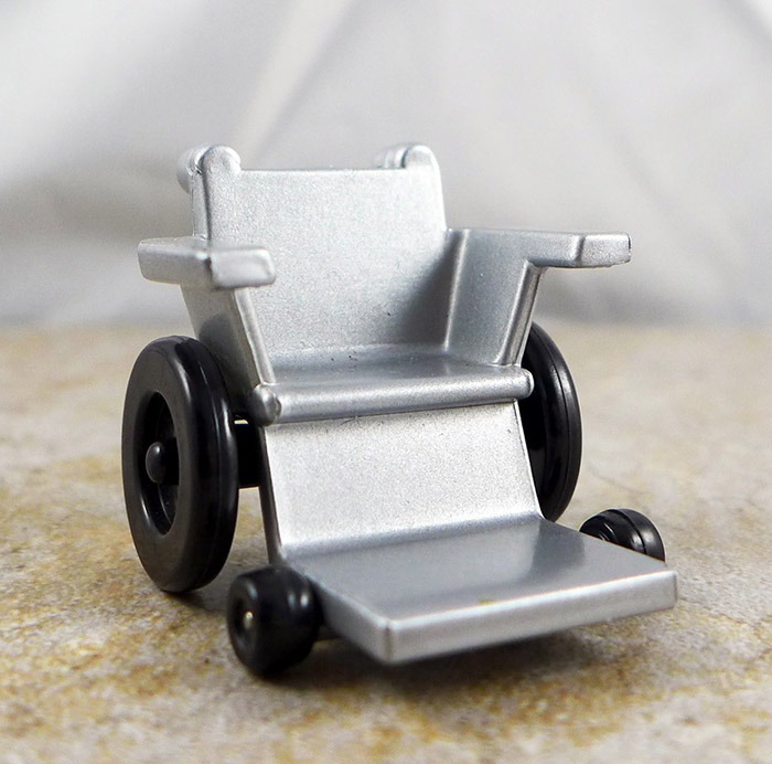Wheelchair (Silver) (Marvel Target Group D)