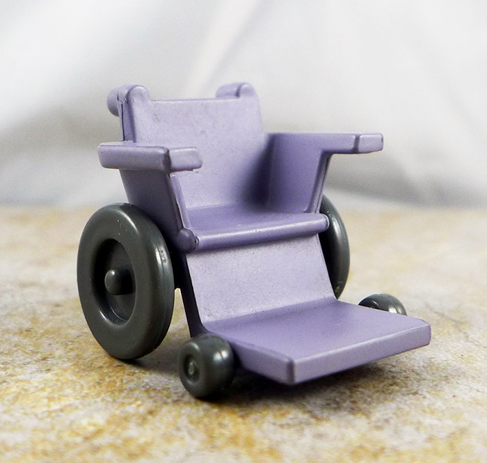Wheelchair (Purple) (Marvel Exclusive 2 Packs)