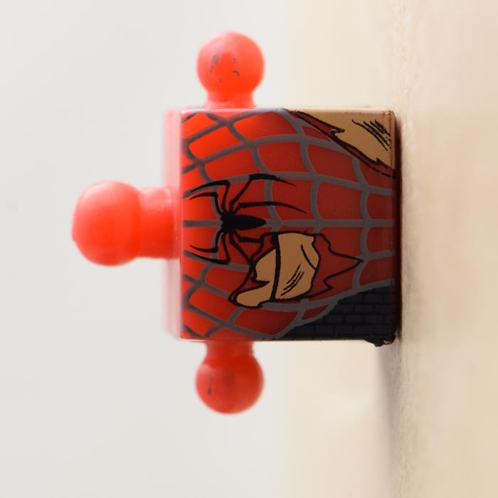 Battle Damage Spider-Man Red and Blue Torso (Marvel Wave 18)