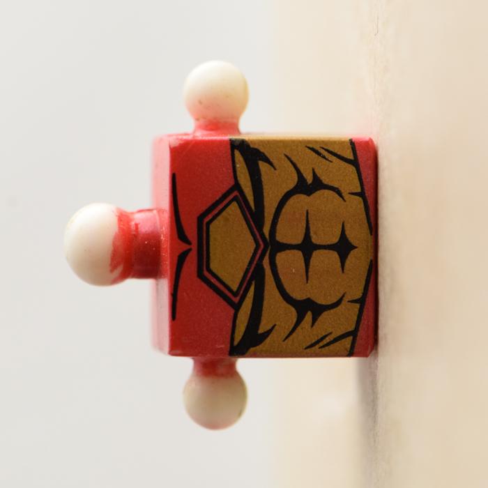 Modular Armor Iron Man Red and Gold Torso (Marvel Iron Man Through the Ages Box Set)