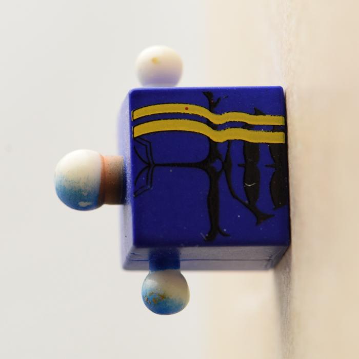 Bishop Blue and Yellow Torso (Marvel Wave 11)