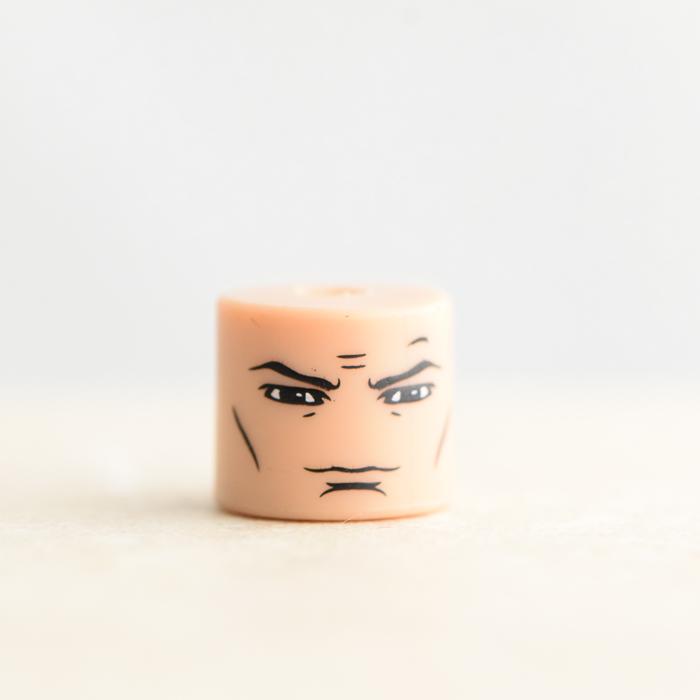 Male Head (Black Eyes)
