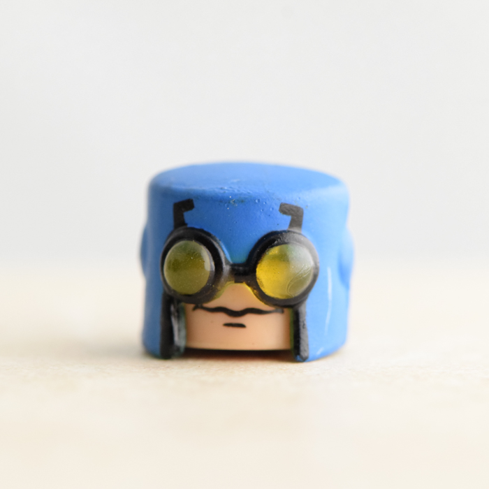 Blue Beetle Head (DC Series 2)