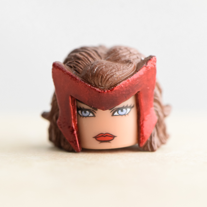 Scarlet Witch Head (Marvel TRU Wave 16)
