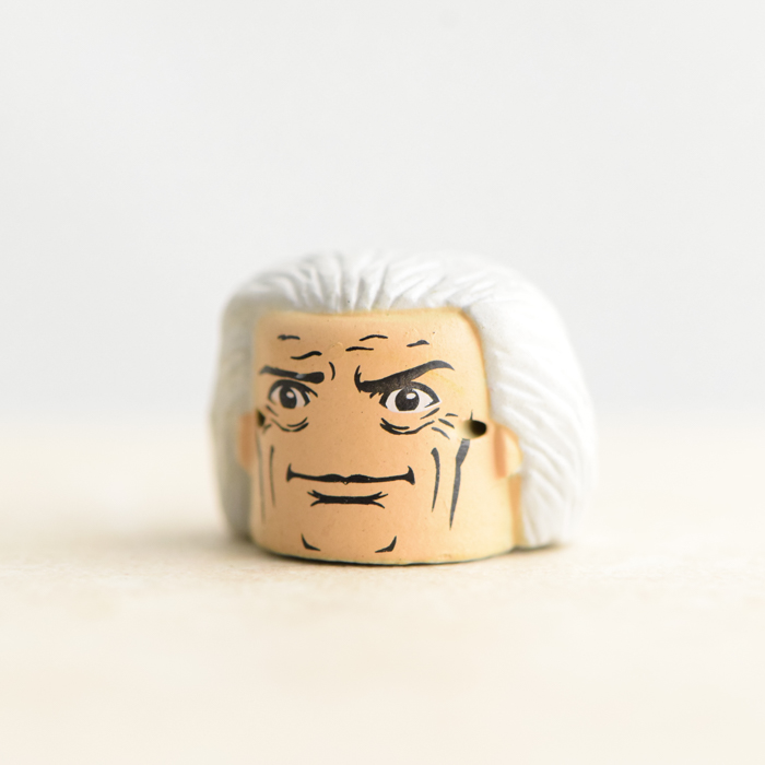Doc Brown Head (Back to the Future Mini-Time Machine (Hover Conversion) Set)