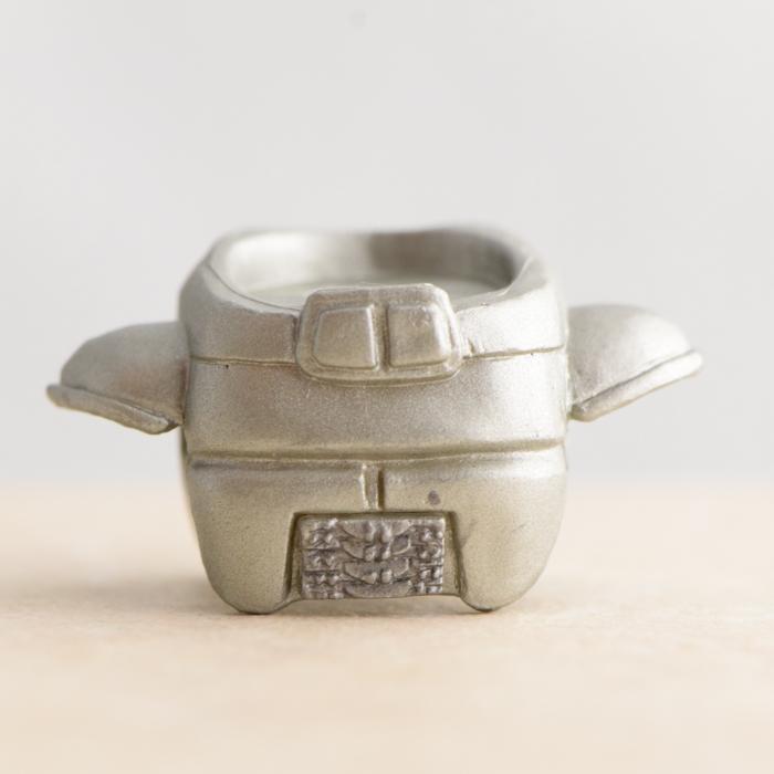 Razor Cylon Silver Chestpiece (Battlestar Galactica TRU Series 1)
