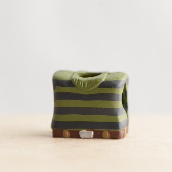 Sandman Green Striped Chestpiece (Marvel Wave 17)