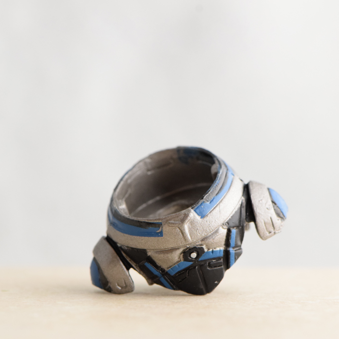Garrus Blue and Grey Chestpiece (Mass Effect Blind Wave 1)
