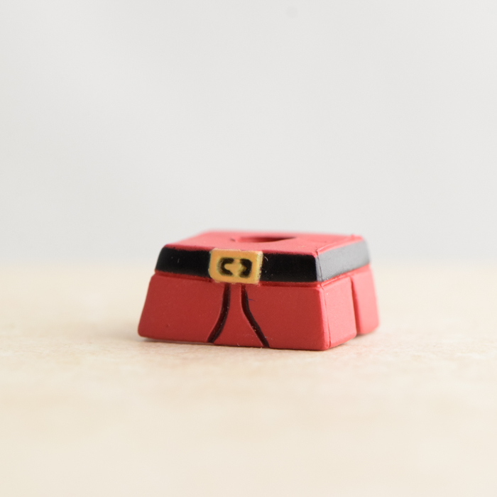 M. Bison Red and Black Skirt (Street Fighter II Series 1)