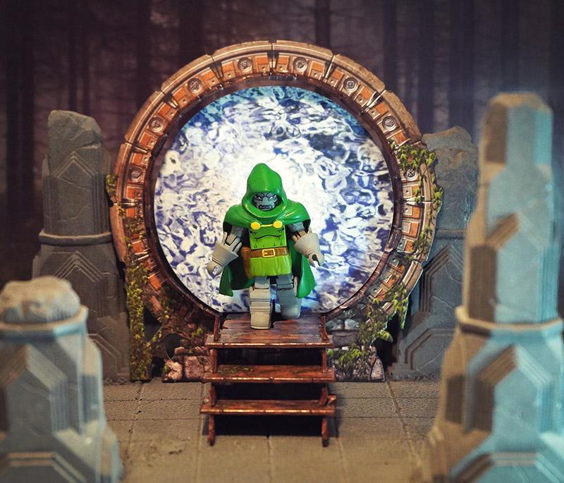 Ancient Portal Diorama