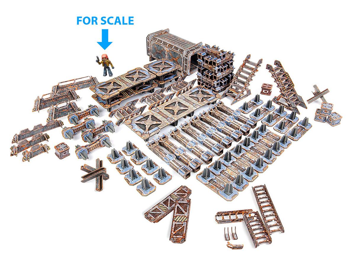 Industrial Rail Yard Deluxe Set