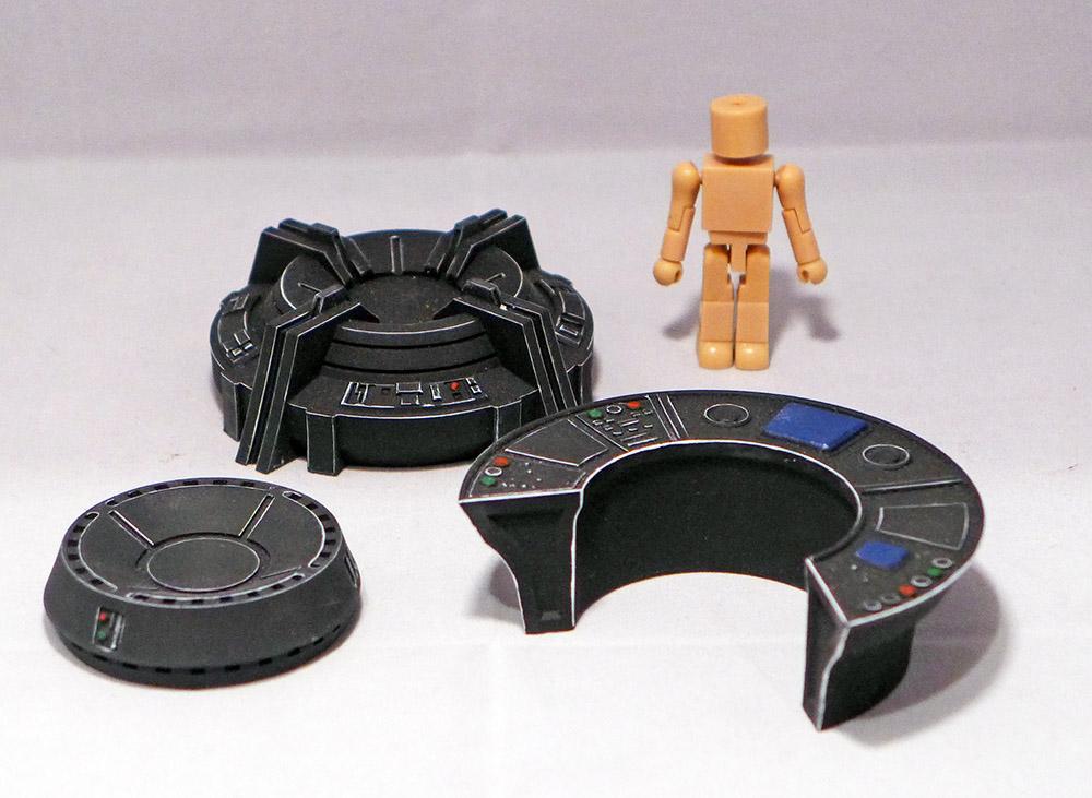 Last One: Sci-Fi Control Room Accessory Set of 3