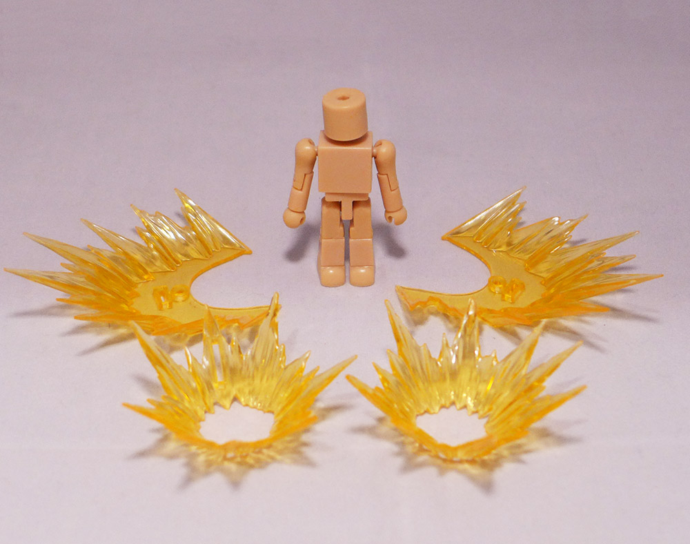 Last One: Yellow Effect Set of 4