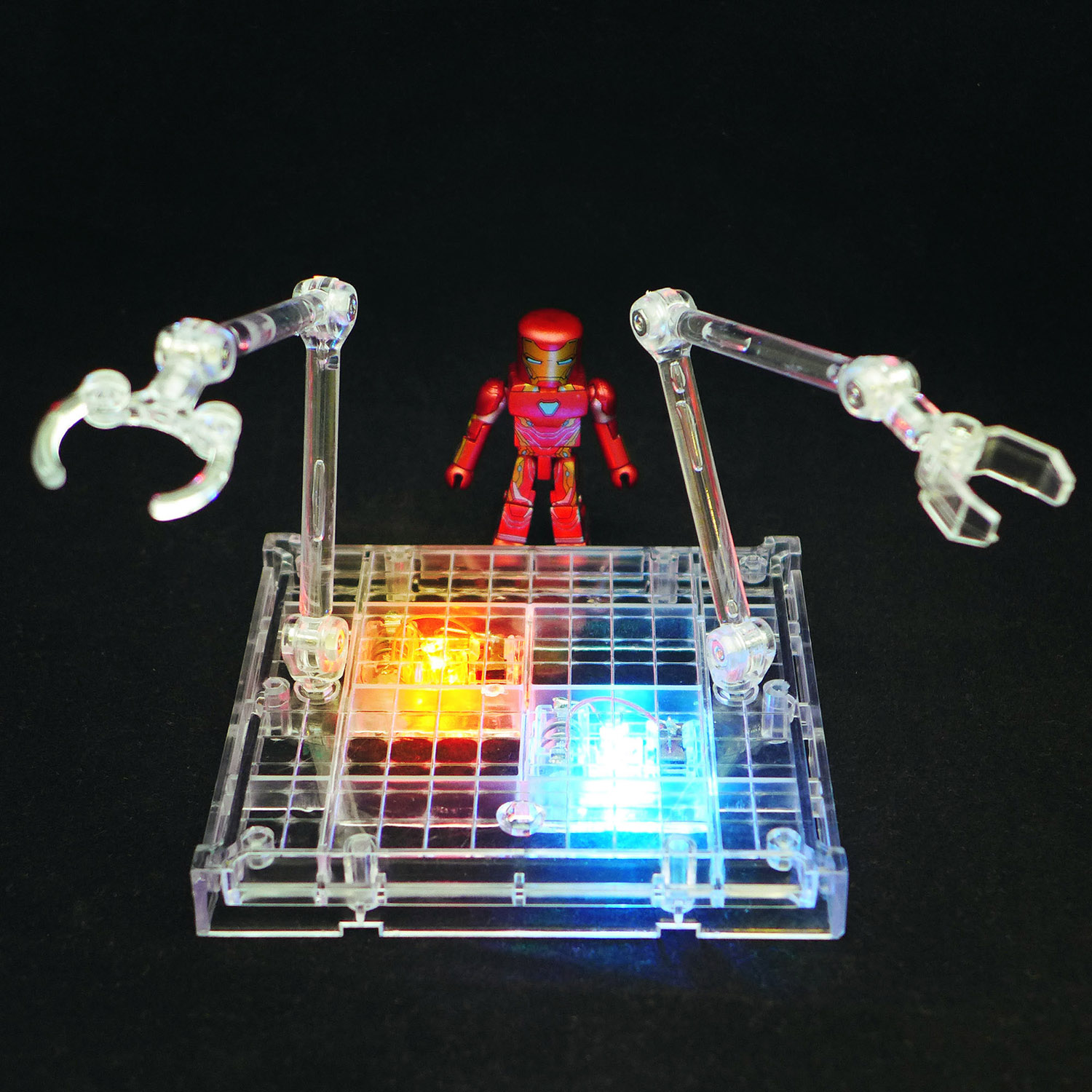 Light-Up Clear Display Stand