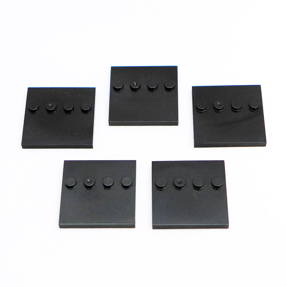 Black Square Stand Set of 5