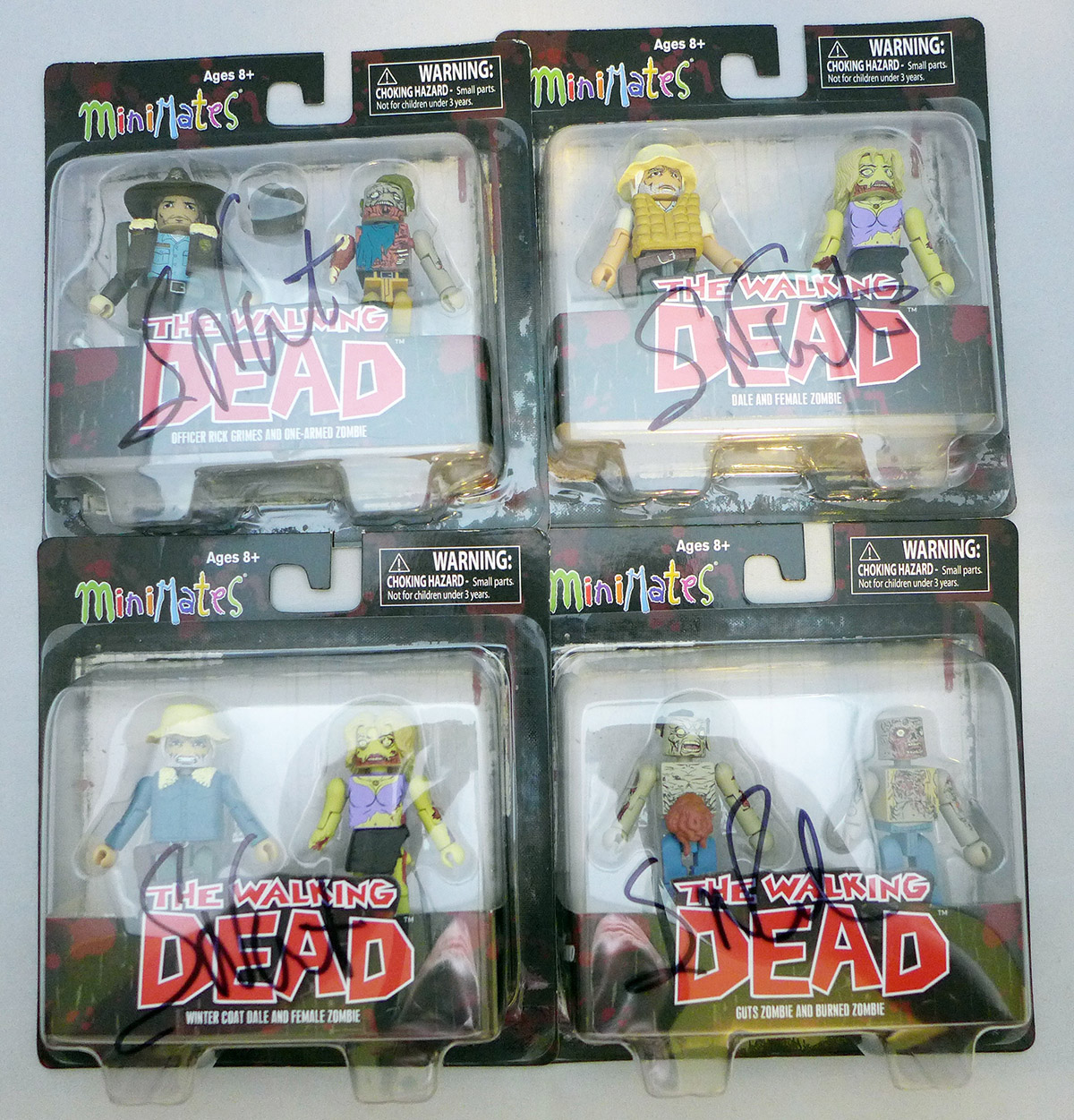 Last One: Autographed Set of Walking Dead Series 1